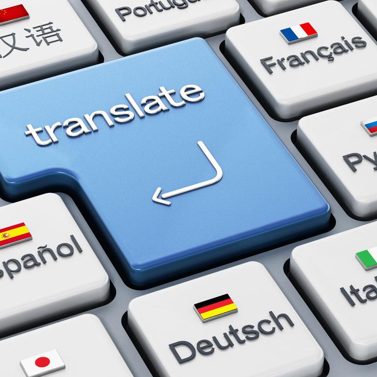 Języki tłumaczeń